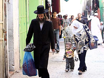 חרדי ירושלמי (צילום: עודד קרני ,mako)