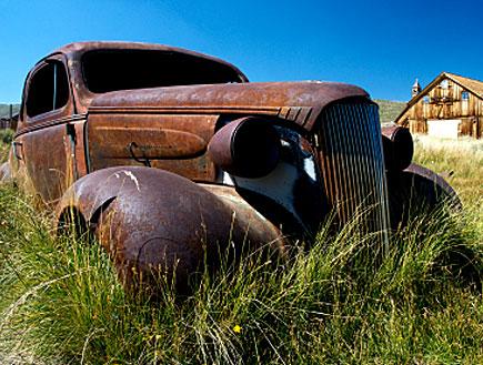 מכונית גרוטאה (צילום: istockphoto ,istockphoto)