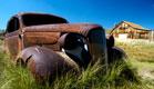 מכונית גרוטאה (צילום: Eric Hood, Istock)
