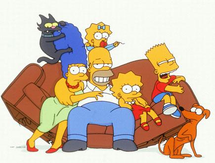 """משפחת סימפסון (צילום: יח""""צ)"""
