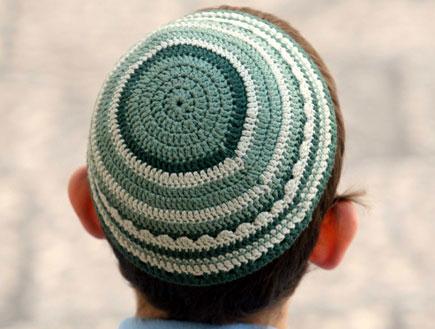 ילד דתי בירושלים (צילום: עודד קרני ,mako)