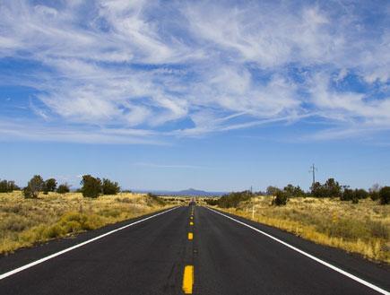 כביש ריק (צילום: shutterstock ,ShutterStock)