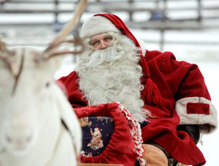סנטה קלאוס (צילום: mako  ,רויטרס1)