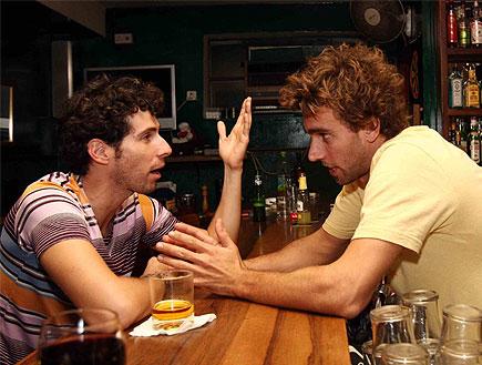 שיחה עם הברמן (צילום: עודד קרני ,mako)