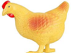 תרנגולת מגומי