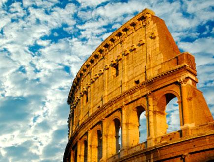 הקוליסאום ברומא ביום מעונן