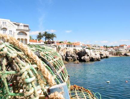 רשתות בנמל קשאיש בפורטוגל