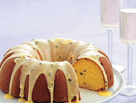 עוגת פסיפלורה (צילום: עדי רם ,mako)