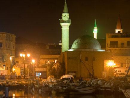 טיולים לצפון: צריח מסגד בעכו (צילום: איציק מרום)