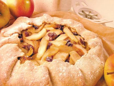 מתוק ובריא - טארט תפוחים כפרי