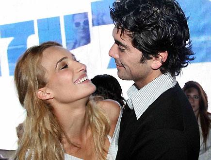 רודריגו גונזלס ואילנית לוי- מסיבה ביקיני בלייזר (צילום: עודד קרני)