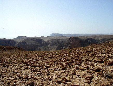 פסגות הרים במדבר יהודה