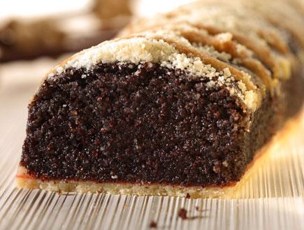 """עוגת פרג ללא סוכר (צילום: 2יח""""צ)"""