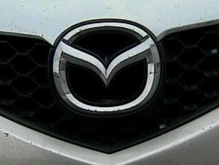 סמל של מכונית מאזדה(חדשות1 ערוץ 2)