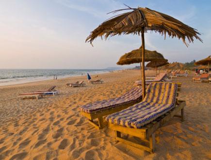 חוף הים בגואה (צילום: istockphoto ,istockphoto)