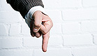 אצבע משולשת (צילום: jupiter images)