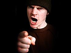איש עצבני (צילום: istockphoto)