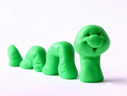 תולעת ירוקה (צילום: istockphoto)