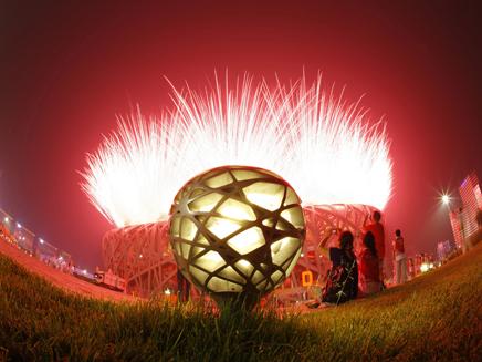 כדור, אש, אולימפיאדה, (צילום: עדי רם ,חדשות 2)