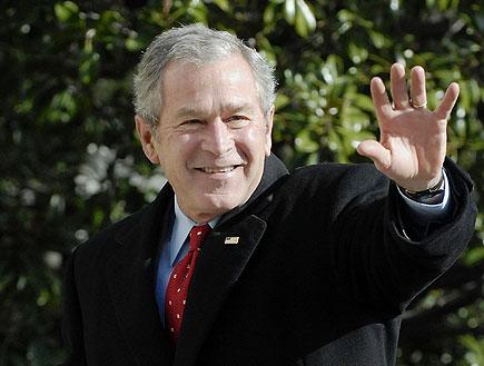 ג'ורג' בוש (צילום: רויטרס ,רויטרס)
