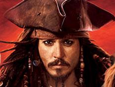 ג'וני דפ בדמותו בשודדי הקריביים
