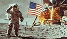 דגל על הירח (צילום: jupiter images)