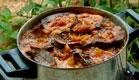 תבשיל שכבות בשר של עידית (תמונת AVI: עדי רם ,גיל חובב מגיש:המנה של המדינה)