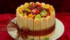 עוגת שארלוט של שושי (תמונת AVI: עדי רם ,גיל חובב מגיש:המנה של המדינה)