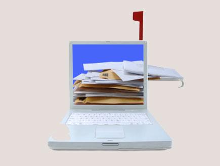 מחשב עמוס (צילום: istockphotos)