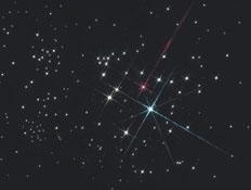 כוכבים בלילה