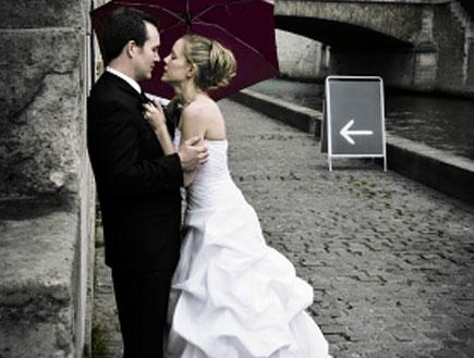חתונת חורף (צילום: istockphoto ,istockphoto)