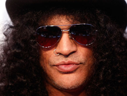סלאש slash (צילום: Getty images ,getty images)