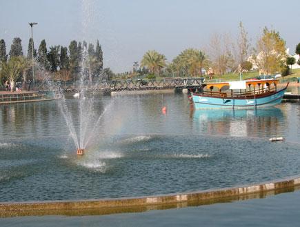 טיולי משפחות: אגם בפארק רעננה