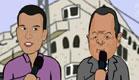 שרוטונים - 0512 אהוד ברק ואסי עזר(חדשות 2)
