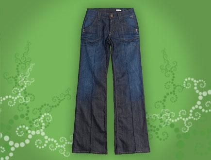ג'ינס בגזרה גבוהה של ריפליי 1199 שקל (יח``צ: לין ממרן ,יחסי ציבור)