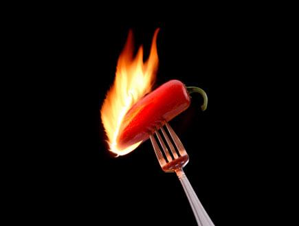 פלפל חריף אש (צילום: istockphoto ,istockphoto)