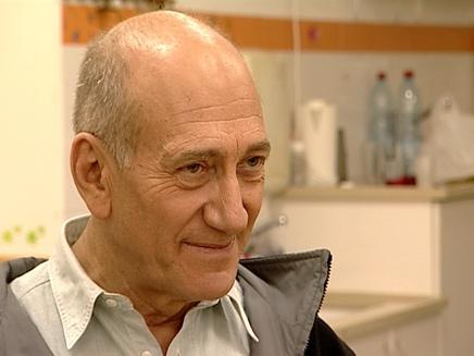 """אולמרט: """"אבו מאזן הפרטנר הטוב ביותר"""" (צילום: חדשות 2)"""