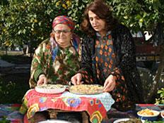 אוכל כורדי מסורתי בפסטיבל אוכל כפרי ביואב יהודה