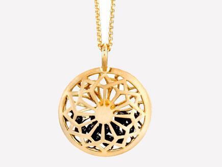 תכשיטי קבלה שרשרת זהב עם מגן דוד