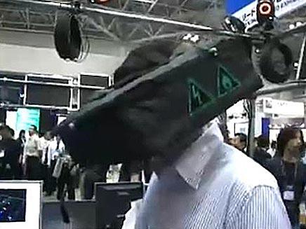 קסדת מציאות מדומה (צילום: חדשות2)