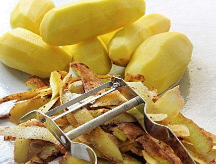 קליפות תפוחי אדמה (צילום: istockphoto ,istockphoto)