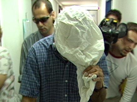 חשוד בבית המשפט (צילום: חדשות 2)