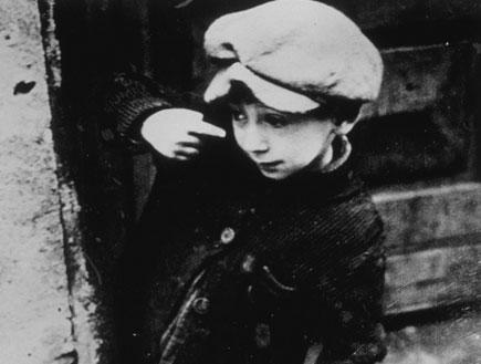 ילד בשואה (צילום: אימג'בנק/GettyImages ,getty images)