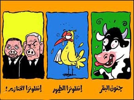 קריקטורה מהעיתון הערבי אל קודס (צילום: אל קודס)