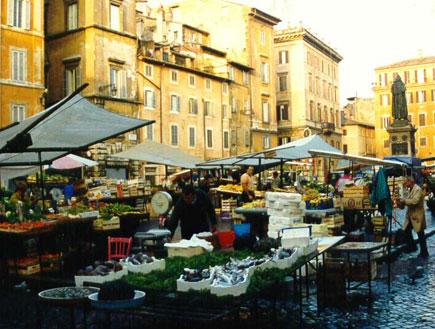 שוק הפרחים ברומא