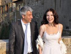 מרינה שויף בחתונתה