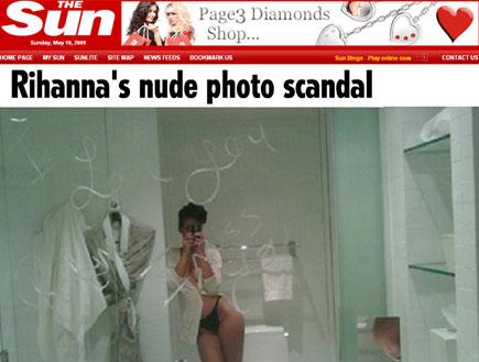 תמונות עירום של ריהאנה