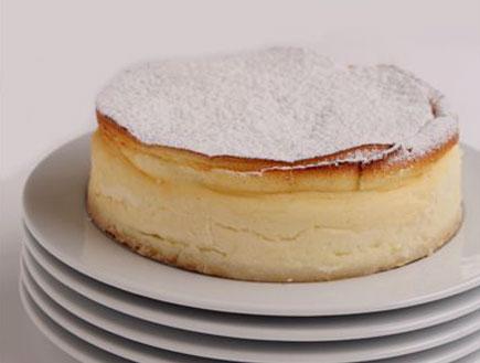 עוגת גבינה קלאסית של לחם ארז