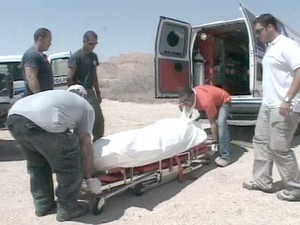 הגופה נמצאה בחצר הבית, ארכיון (צילום: חדשות 2)