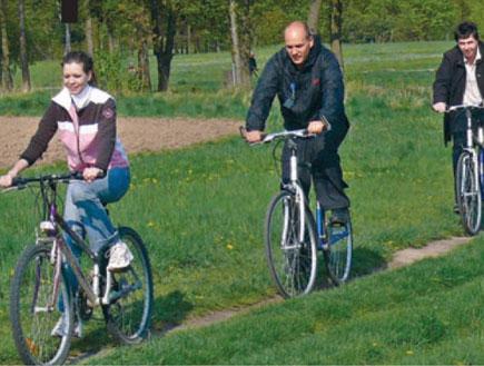 טיול אופניים בפראג